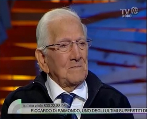 TV 2000 intervista il reduce Di Raimondo